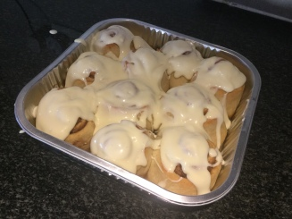 Smother with icing